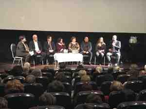 A pódiumbeszélgetés résztvevői