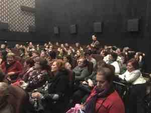 A pódiumbeszélgetést követően a közönség is bekapcsolódott a beszélgetésbe